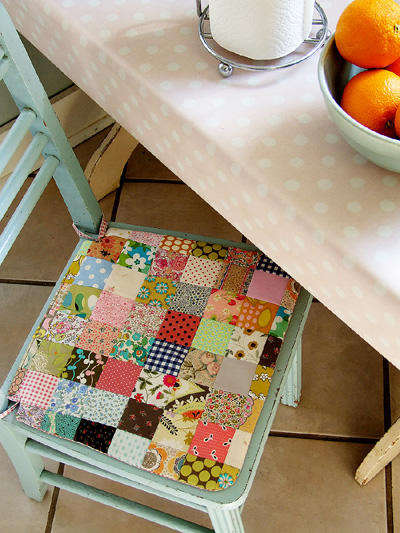 Posie Gets Cozy: Seat Cushion Pattern and Kits