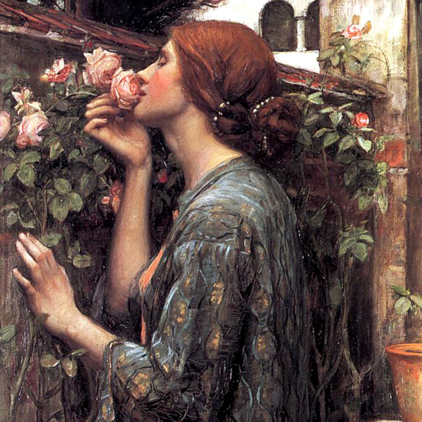 The-soul-of-the-rose-1908-detail
