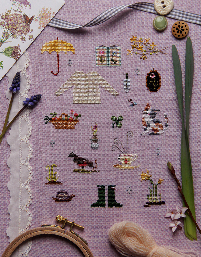 Sew and So on Tea Cozy Kit Sweet Cottage