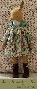 Miss Dandelion Doe Hand-Stitched Softie Kit