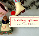 Ice Skating Afternoon Ornament Kit