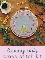 Spring Ring Cross-Stitch Kit