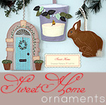 Sweet Home Ornament Set Kit