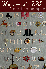 Winterwoods ABCs Sampler Cross-Stitch Kit