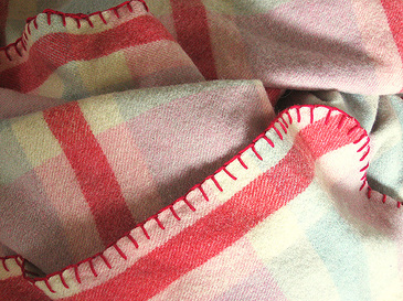 Plaidwoolblanket